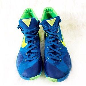 Nike Hyperdunk Sneakers Basketball Blue Size 12
